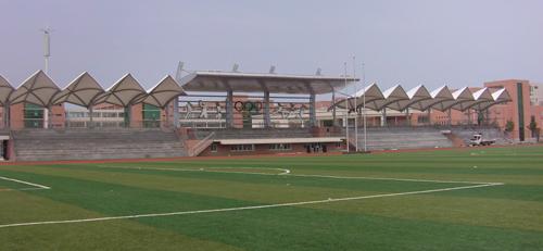 足球场看台膜结构-深圳市筑宇空间膜技术开发有限
